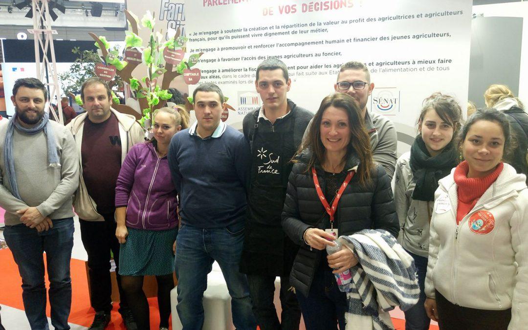La délégation Occitanie sur le stand de JA NAT!