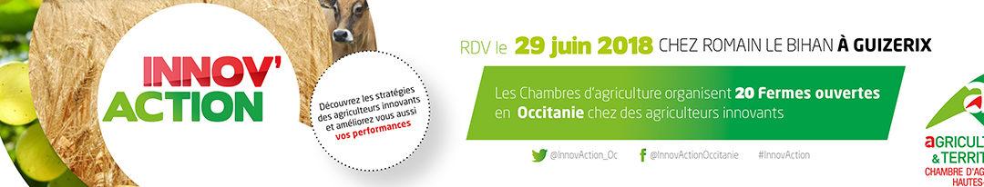 INNOV'ACTION le 29 juin chez Romain LE BIHAN à Guizerix